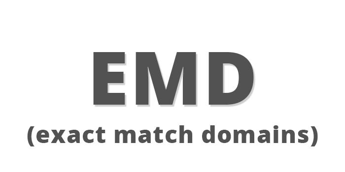 exact match domain