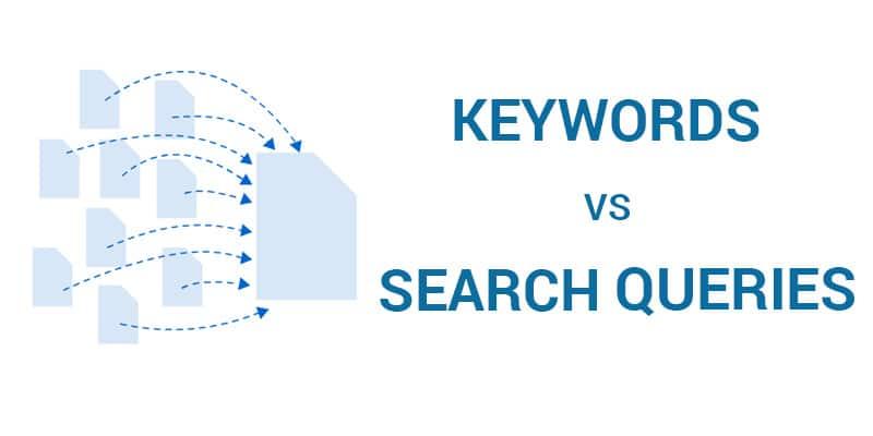 keyword vs query