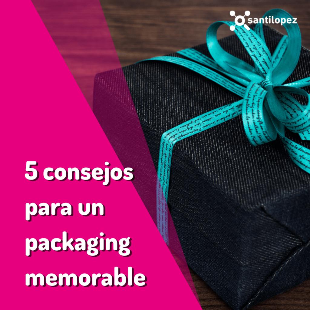 cómo hacer un buen packaging