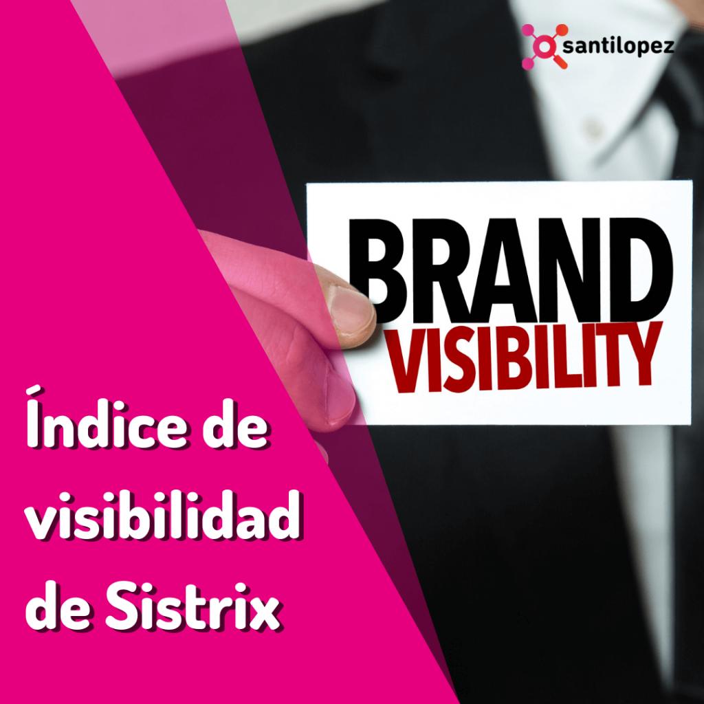 indice de visibilidad de sistrix